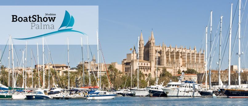 It's Palma Boat show time !